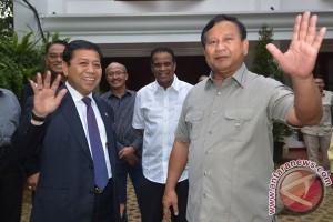 Pertemuan Setya Novanto dan Prabowo