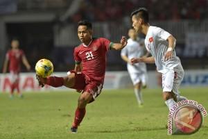 Tak ada gol di babak pertama, Indonesia masih unggul agregat