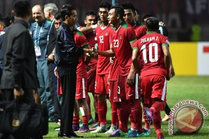 Presiden ucapkan selamat pada Timnas Indonesia