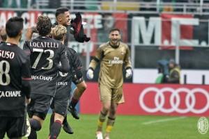 Lapadula menangkan Milan 2-1 atas Crotone