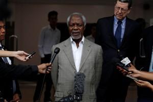 PBB akan dengar penjelasan Kofi Annan tentang Myanmar