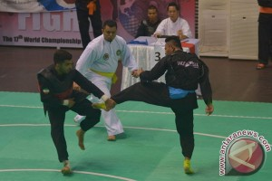 Tiga atlet Indonesia ke final kejuaraan dunia pencak silat