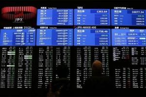 Bursa saham Tokyo dibuka lebih rendah