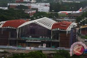 Progres Kereta Bandara Soekarno Hatta