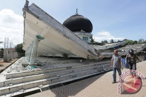 Gempa Pidie Jaya dampak pergeseran sesar aktif