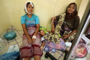Enam korban gempa dirujuk ke Banda Aceh