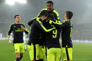 Trigol Lucas Perez bawa Arsenal pecundangi Basel 4-1