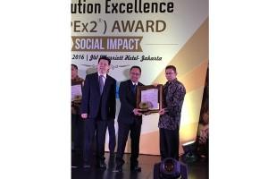 BPJS Ketenagakerjaan raih penghargaan SPEx2