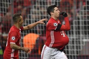 Liga Champions: Tendangan bebas Lewandowski menangkan Muenchen atas Atletico