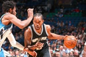 Kawhi Leonard sokong kemenangan Spurs 105-91 atas Timberwolves