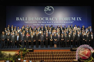 Bali Democracy Forum calls for synergy of religions, tolerance and democracy