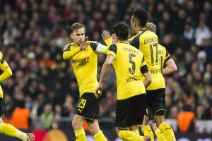 Liga Champions - Tahan imbang Madrid 2-2, Dortmund jawara Grup F