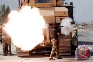 Polisi Irak bersiap memasuki Mosul