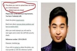 Sistem paspor Selandia Baru tak bisa deteksi foto mata sipit