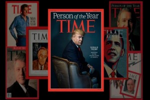 Time magazine names Donald Trump as person of the year