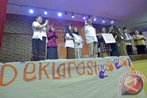 Dukungan Deklarasi Festival Budaya Perempuan