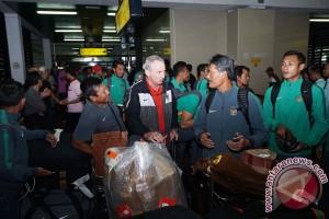 Timnas Indonesia Tiba Di Bandara