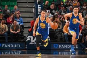 Curry pimpin Warriors pecundangi Jazz 106-99