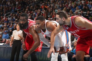 Rockets hentikan rentetan kemenangan Thunder