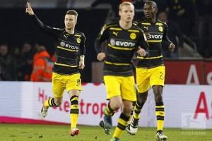 Gol telat Reus selamatkan Dortmund dari kekalahan kontra Cologne