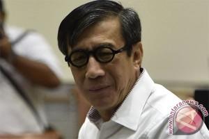 KPK sayangkan tidak hadirnya Yasonna untuk saksi e-KTP