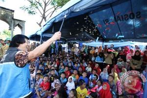 Kak Seto sambangi anak-anak korban panti ilegal Pekanbaru