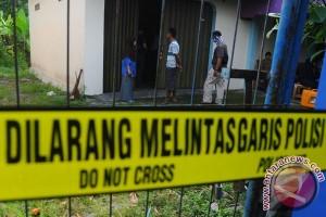 Polisi perketat keamanan di lokasi penggerebekan teroris