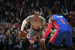 Rajon Rondo pimpin Bulls bekuk Pistons 113-82