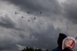 Tim Aerobatik Jupiter selesaikan misi di Malaysia