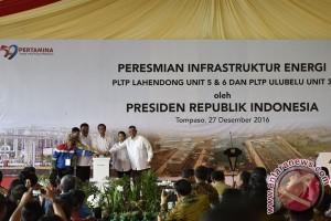 Presiden Resmikan Tiga Proyek PLTP