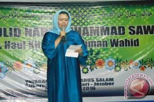 Yenny Wahid sampaikan pesan kedamaian Gus Dur