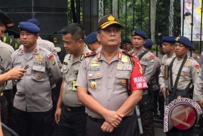 Polda Metro Jaya menyekat wilayah perbatasan saat takbiran