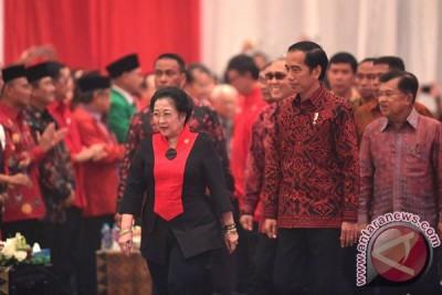 Presiden Jokowi hadiri perayaan ultah Megawati Soekarnoputri