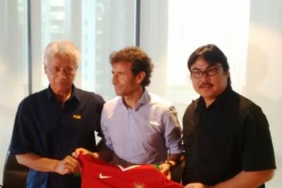 Pelatih baru Luis Milla diberi target emas SEA Games 2017