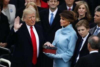 Donald Trump sang Presiden ke-45 AS