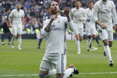 Sergio Ramos antar Madrid tundukkan Malaga 2-1