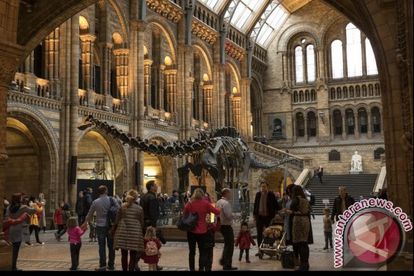 Museum London Copot Replika Dinosaurus Dippy Setelah Seabad