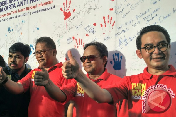 Masyarakat Indonesia Anti Hoax Deklarasi Serentak Di Enam Kota