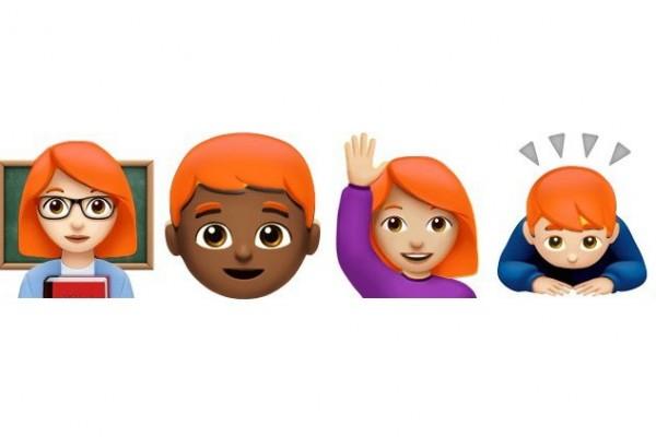 Emoji Si Rambut Merah Akan Hadir?