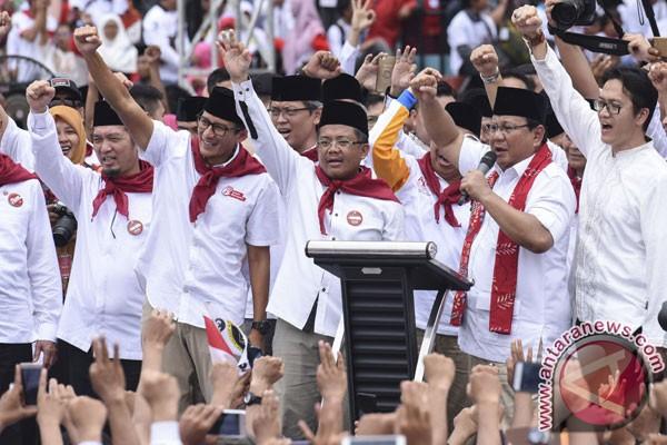 Kampanye Akbar Anies Sandi Foto Antara News