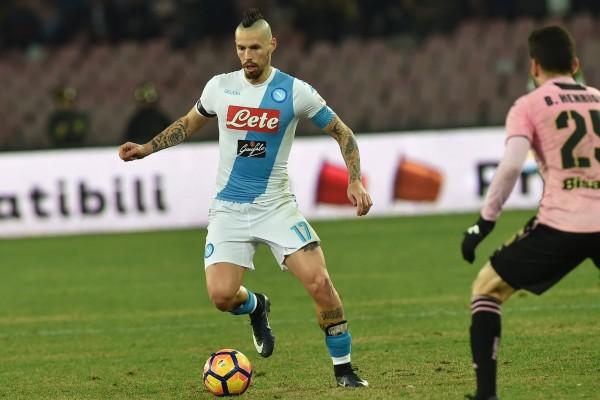 Napoli Main Imbang 1 1 Lawan Palermo