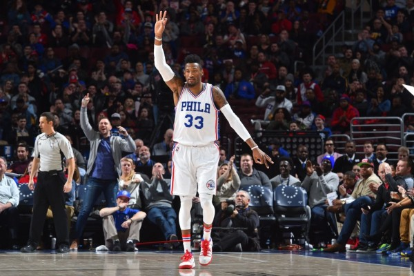 Robert Covington antar Sixers tumbangkan Kings 122-119