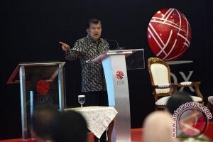 Wakil Presiden buka perdagangan BEI 2017