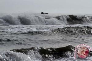 Perairan laut masih belum aman untuk nelayan