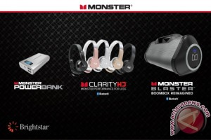Monster® gandeng Brightstar untuk perluas jangkauan pemasaran ke seluruh dunia