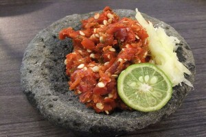 Rupa sambal sebelum cabai hadir di Indonesia
