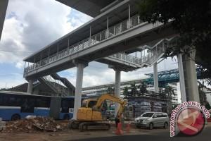 Halte Transjakarta koridor 13 ditargetkan selesai bulan ini