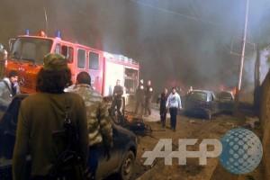 Pemboman bunuh diri guncang Istana Kehakiman di Damaskus, 30 tewas