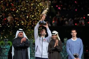 Djokovic pertahankan gelar Qatar Terbuka, kalahkan Murray