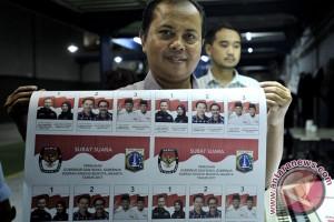 Tinjau Kertas Suara Pilkada DKI Jakarta